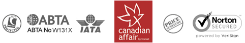 Canadian Affair footer icons